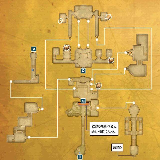 アニスの禁域I-a(風の王国ローラント)のマップ