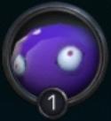 紫スライムの画像