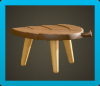 Leaf Stool Icon