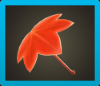 Maple-Leaf Umbrella Icon