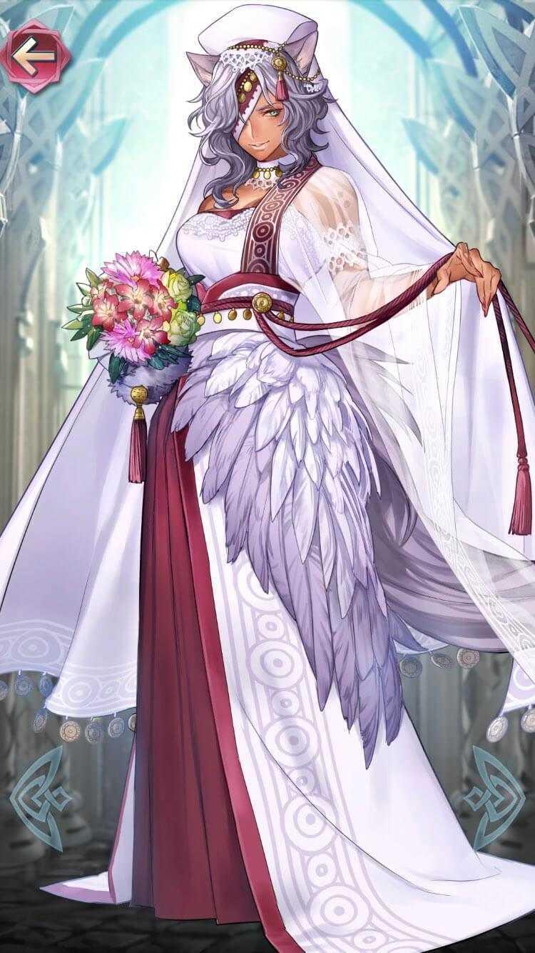 ニケ(祝福されし女王)の立ち絵