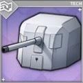 138.6mm単装砲Mle1927T3の画像