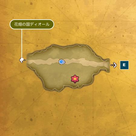 ランプ花の森Iのマップ3