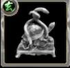 玄武の彫像