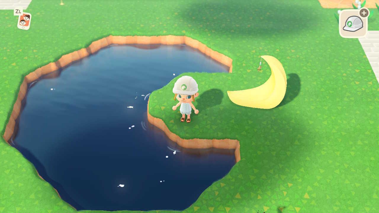 あつ森 池 埋め立て