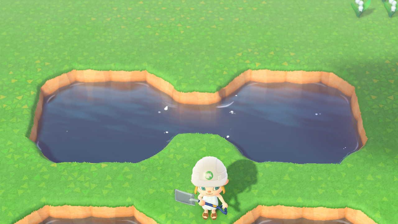どうぶつ の 森 ハート 池
