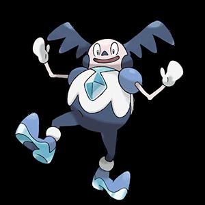 Pokemon Sword and Shield - Galarian Mr. Mime