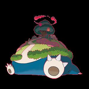 カビゴン(キョダイマックスのすがた)画像