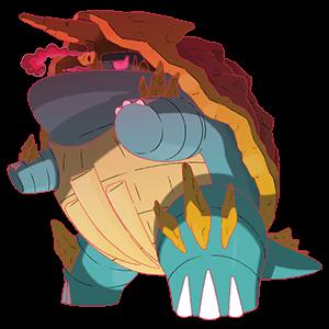カジリガメ(キョダイマックスのすがた)画像