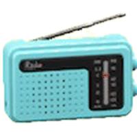 けいたいラジオのライトブルーの画像