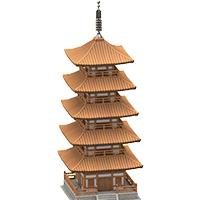 あつ 森 五重塔