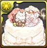 たまドラウェディングケーキの画像