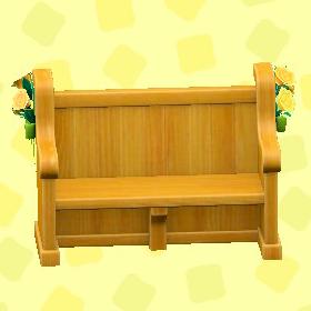 ウェディングなベンチのガーデンの画像