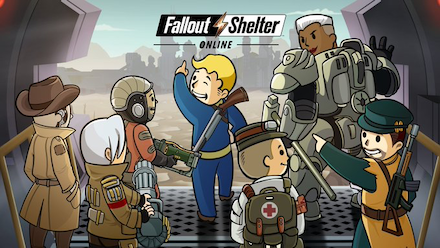 Fallout Shelter Online バナー