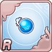 水のR進化素材のアイコン