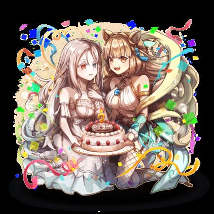 祝福の少女達 アロケルxエディアの画像