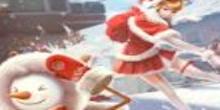 クリスマス雪合戦の画像