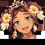 [花々の祝福]ヤシの画像