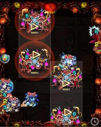 焔摩天 ステージ4