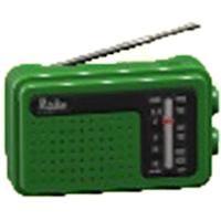 けいたいラジオのグリーンの画像