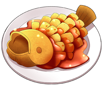 松鼠桂魚の画像