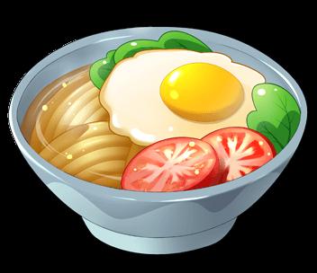 卵麺の画像