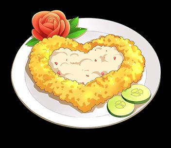 寛油愛心卵の画像