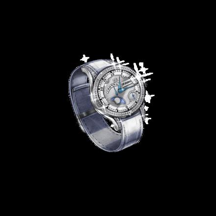 コーレル.・ポール.・ジュルヌの時計【ホワイト】