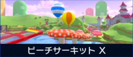 N64ピーチサーキットXの画像