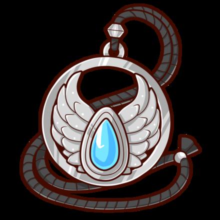 銀の護符(聖)の画像