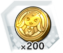 エンゲージメダル200