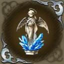 祈る天使像・碧の画像