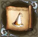 三角帽子のクラフトレシピの画像