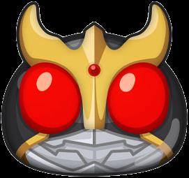 仮面ライダークウガのアイコン