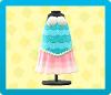 マーメイドなおさかなドレスの画像