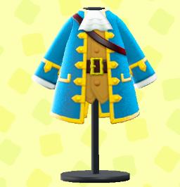 かいぞくのコート(ブルー)の画像