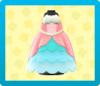 マーメイドなプリンセスドレスの画像