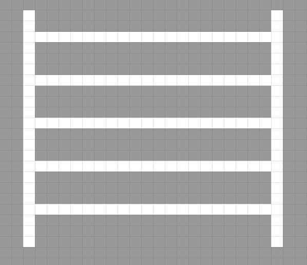 梯子型ブランチマイニング