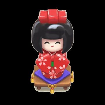 赤日本人形