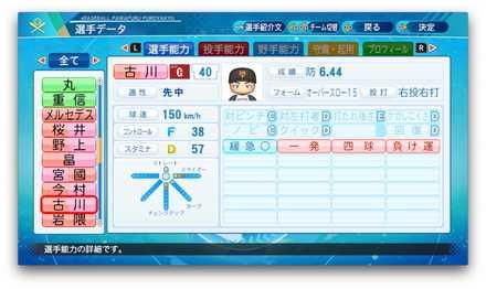 古川侑利のステータス画像