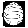 草食の卵画像