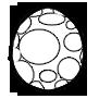 魚竜の卵画像