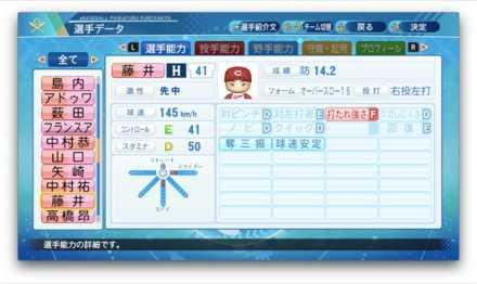 藤井皓哉のステータス画像