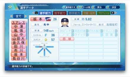 坂本光士郎のステータス画像