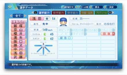 浅田将汰のステータス画像