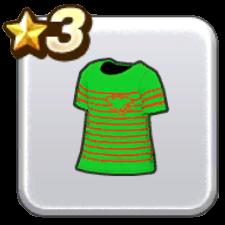 ボーダーTシャツ・緑