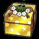 金の夏服ボックス