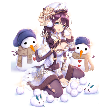 [雪遊び]関平の画像