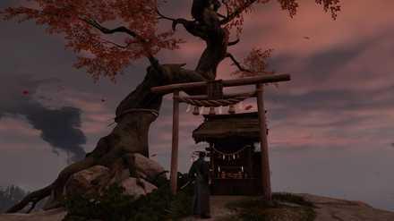 ゴーストオブツシマの風峰神社