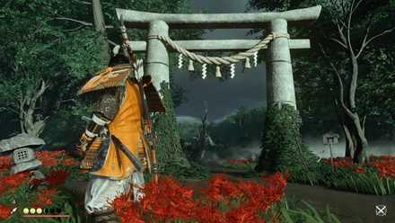 ゴーストオブツシマの紅陵神社